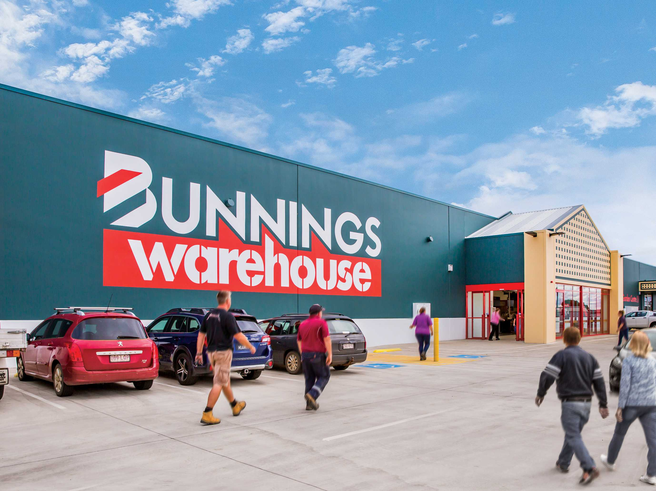 Brand new Bunnings Warehouse in Queensland